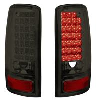 DNAMotoring TL-GMCDE00-LED-CH-SM Tail Light Assembly, Driver and Passenger Side