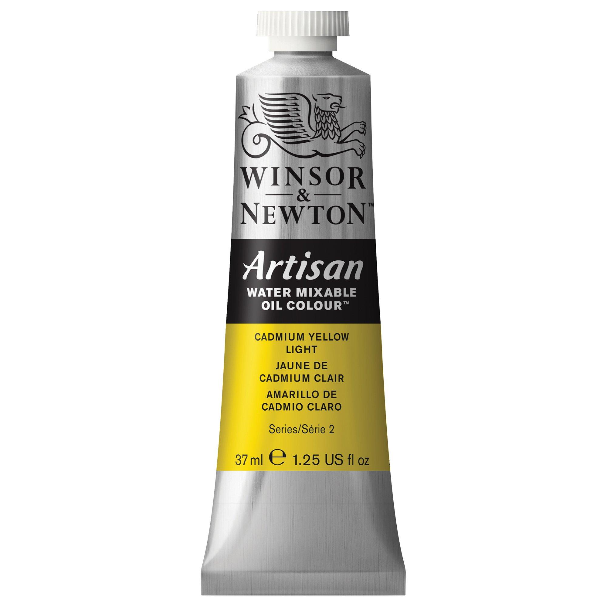 Winsor & Newton Artisan Water Mixable Oil Colour, 37ml Tube, Cadmium Yellow Light