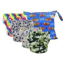 Ohbabyka Baby Training Pants Washable Reusable Nappy Diaper (XLK0-019)