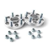 25mm (1 inch) Hubcentric 5x114.3 Wheel Spacers (60.1mm Bore, 12x1.5 Studs) Compatible with Toyota Avalon Camry Supra MR2 Scion Tc xB Lexus ES300 ES330 ES350 IS250 IS300 IS350 GS300 GS350 Silver 2pcs