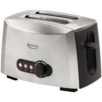 Betty Crocker RA28381 2-slice Toaster, Brushed Stainless Steel