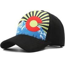 Baseball Cap for Men Women Adjustable Cotton Classic Plain Hat for Running Cycling Hiking Golf…