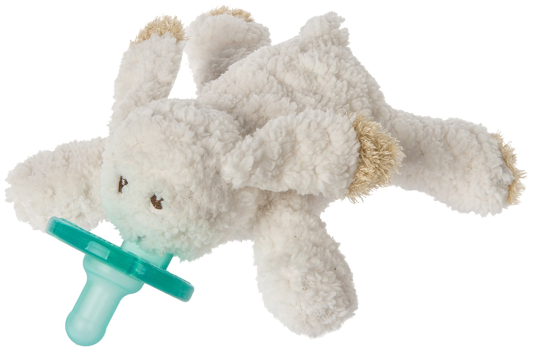 Mary Meyer WubbaNub Soft Toy and Infant Pacifier, Oatmeal Bunny