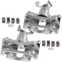 A-Premium Brake Caliper Assembly with Bracket Compatible with Dodge Journey 2012-2018 Rear Side 2-PC Set