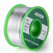 AUSTOR 1.5mm Lead Free Solder Wire with Rosin Core