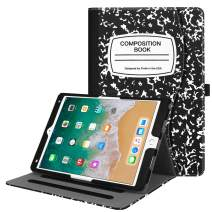 "Fintie Case for iPad Air 10.5"" (3rd Gen) 2019 / iPad Pro 10.5"" 2017 - [Corner Protection] Multi-Angle Viewing Folio Stand Cover with Pocket, Pencil Holder, Auto Wake/Sleep, Composition Book"