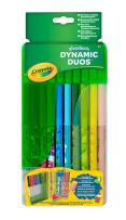 Crayola Dynamic Duos Super Tips Markers, Features Scented Markers,20ct