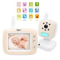 ISEE Video Baby Monitor with Camera, Digital Long Range Color Screen Wireless Baby Monitor with Infrared Night Vision Cameras, High Capacity Battery, Temperature Monitoring, Two Way Audio Lullabies