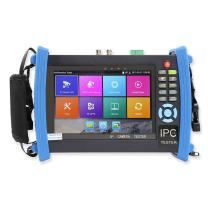 Wsdcam 7 Inch 1080P Retina Display IP Camera Tester CCTV Tester Analog Tester with POE/IP Discovery/Rapid ONVIF/WIFI/8G TF Card/4K H.265/HDMI in&Out/RJ45-TDR/Firmware Update Upgraded 8600-Plus