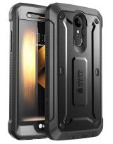 SUPCASE [Unicorn Beetle PRO Series] Full-Body Rugged Holster Case for LG K20 Plus, with Built-in Screen Protector for LG K20 V/LG K20 Plus/LG Harmony/LG LV5/LG K10 2017 (Not Fit LG K10 2016) (Black)