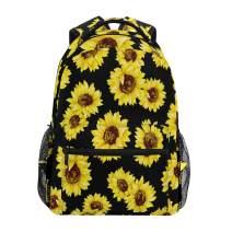 ZZKKO Sunflower Summer Computer Backpacks Book Bag Travel Hiking Camping Daypack