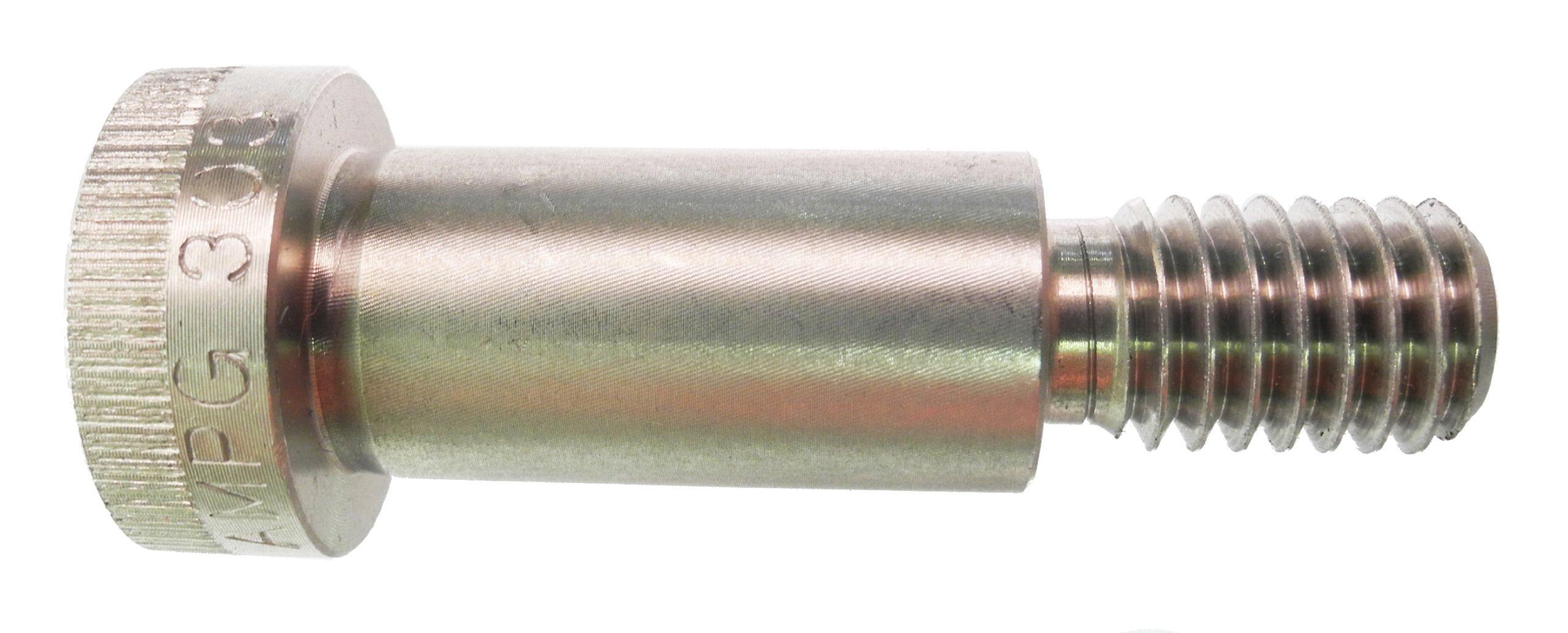 Plain Finish Socket Head Cap Hex Socket Drive 3//16 Thread Length Pack of 1 Standard Tolerance Meets ASME B18.3 5//32 Shoulder Diameter 316 Stainless Steel Shoulder Screw Partially Threaded #6-32 Threads 1//2 Shoulder Length Made in US,
