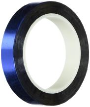 """TapeCase Metalized Polyester Film Tape 1.5"""" x 5yds - Blue (1 Roll)"""