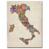 Italy II by Michael Tompsett, 24x32-Inch Canvas Wall Art