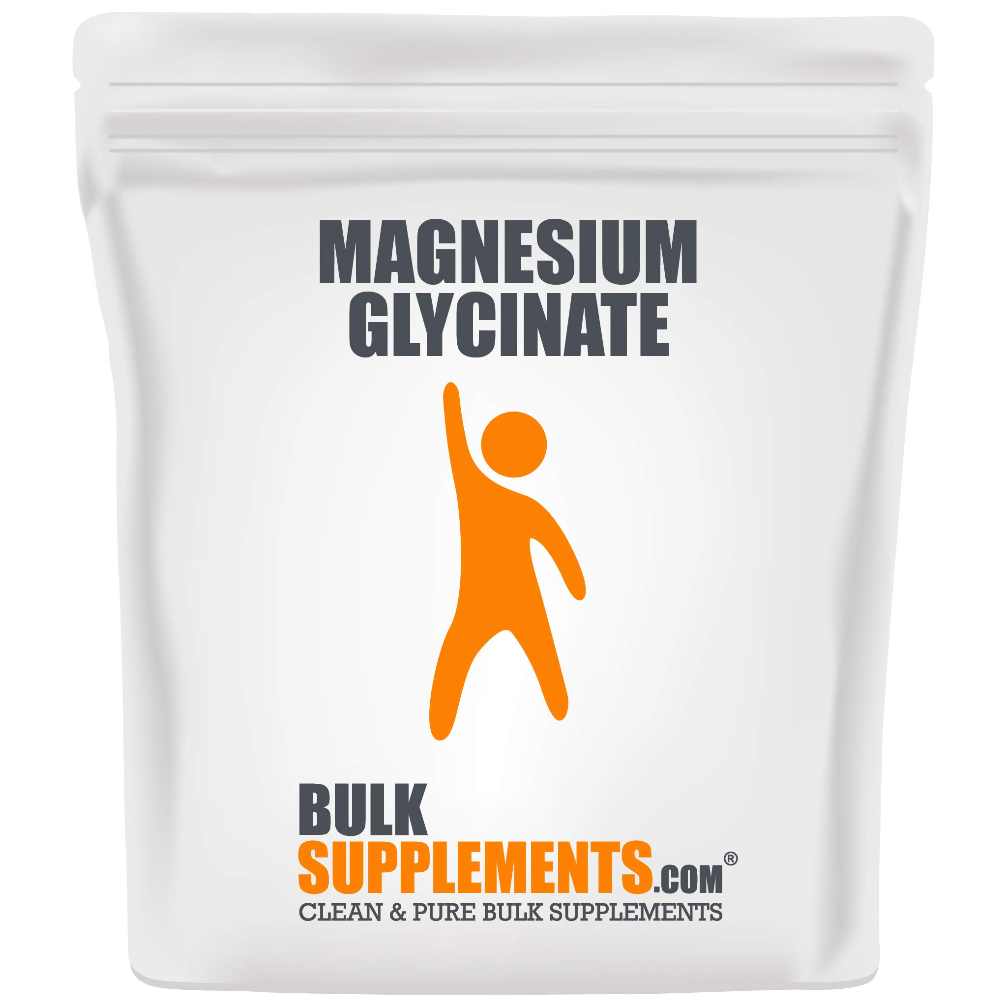 BulkSupplements Magnesium Glycinate Powder (250 Grams)