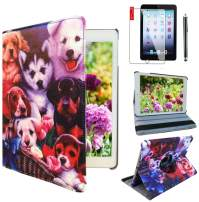 Ipad Case for Apple ipad Mini 1st, 2nd, 3rd Generation Model : A1432, A1454, A1455, A1489, A1490, A1491, A1599, A1600 or A1601 (Dog Design)