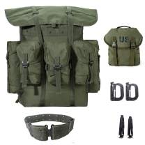 Military Rucksack Alice Pack Army Backpack and Butt Pack