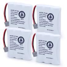 QBLPOWER Model BT-905 BT-800 BT-1006 Cordless Phone Battery Compatible with Uniden BT905 BT800 BT1006 BBTY0663001 BBTY-0444001 BP-800 BP-905 P-P501 P-P508 3.6v 600mAh Ni-CD Rechargeable (4 Pack)