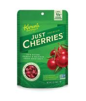 Karen's Naturals Just Cherries, 2 Ounce (Pack of 1) (Packaging May Vary) All Natural Freeze-Dried Fruits & Vegetables, No Additives or Preservatives, Non-GMO