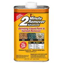 Sunnyside 63532 2-Minute Remover Advanced Paint & Varnish Remover Liquid, Quart