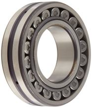 NSK 22209EAE4 Spherical Roller Bearing, Round Bore, Pressed Steel Cage, Metric, 45mm Bore, 85mm OD, 23mm Width, 6000rpm Maximum Rotational Speed, 24954lbf Static Load Capacity, 26527lbf Dynamic Load Capacity