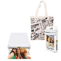 Polaroid Zip Wireless Photo Printer (White) Starter Kit with Tote Bag