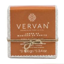 Vervan Natural Handmade Soap, Cold Process, Shea Butter, Regenerate Skin Cells, Cold Process, Emulsified with Organic Olive Oil, Pure Vegetable Oils, Beeswax, 3.4 Oz