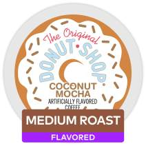 The Original Donut Shop Coconut Mocha, Single-Serve Keurig K-Cup Pods, Flavored Medium Roast Coffee, 72 Count