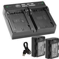 NP-FZ100 Replacement Battery and Dual Bay Charger Set Compatible with Sony a6600, a7R IV, A7RIII, A7R3, a7 III, Alpha 9, Sony A9, Alpha a9 II, Alpha 9R, A9R, Alpha 9S (2-Pack, 2280mAh) by BM Premium