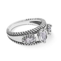 Carolyn Pollack Sterling Silver Gemstone Stack Band Ring- Choice of Gemstones