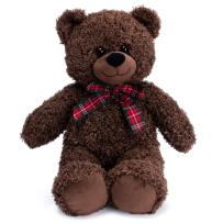 Bebamour Cute Teddy Bear Soft Plush Stuffed Animal Plush Bear Toy Gift for Boy Girl Kids, 17.7 inches/45CM (Brown)
