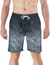 MILANKERR Men's Swim Trunk Beach Shorts Swimwear Quick Dry