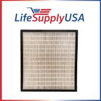 LifeSupplyUSA 2 Pack Replacement HEPA Compatible with Alen FF50 HEPA-Pure Filter and BreatheSmart FIT50 Air Purifier FIT 50
