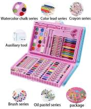 Art Supplies for Kids, Felico Deluxe Art Set 86 Pieces for Drawing, Painting and More in a Portable Plastic Case, Coloring Supplies Art Kits Great Gift for Kid, Children,Toddlers, Beginners