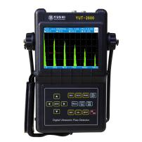 YUSHI YUT2600 Portable Digital Ultrasonic Flaw Detector w/one straight beam probe and one angle beam probe, Varies Probe/Transducer options available, Data Logger