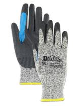 Glove & Safety GPD530RT-10 D-ROC GPD530RT Polyurethane Palm Coated Work Glove with Reinforced Thumb Saddle