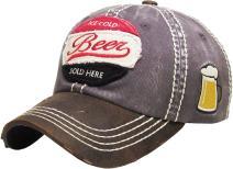 Vintage Fashion Distressed Baseball Cap Dad Hat Adjustable Unisex Trucker