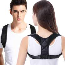 """2020 Updated Posture Corrector for Women and Men, vimate Adjustable Comfortable Posture Support for Clavicle, Shoulder Back Pain Relief (L Size for 30""""- 40"""" Chest)"""
