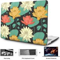 OneGET MacBook Air 13 Inch Case Hard Shell Laptop Case MacBook Air 13 inch Release 2010-2017 A1369 A1466 with Retina Display Computer Case Fashion MacBook Air 13 Case Flowers (F7)