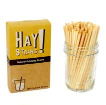 "HAY! Natural Drinking Straws, Cocktail 5"""