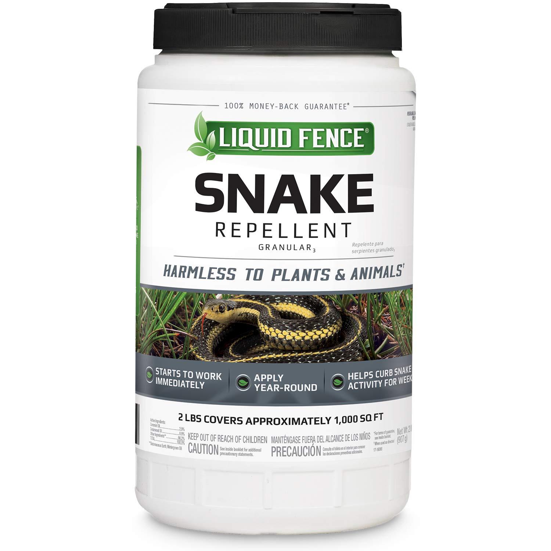 Liquid Fence Snake Repellent Granular, 2-Pound