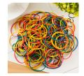 Hamosky Rubber Band Paper Bills Dollars Money Elastic Stretchable Bands 500Pcs,Size 38mm /1.49 Inches (Multicolored)