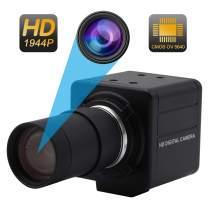 5-50mm Varifocal Lens USB Camera High Definiton 1944P Webcam CMOS OV5640 USB with Cameras,Indoor Outdoor Webcamera,5 Megapixel Mini Web Cam USB Home Nanny Pet Webcamera usb for Android Linux Windows