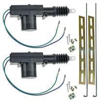 InstallGear Universal Car Power Door Lock Actuators 12-Volt Motor (2 Pack)