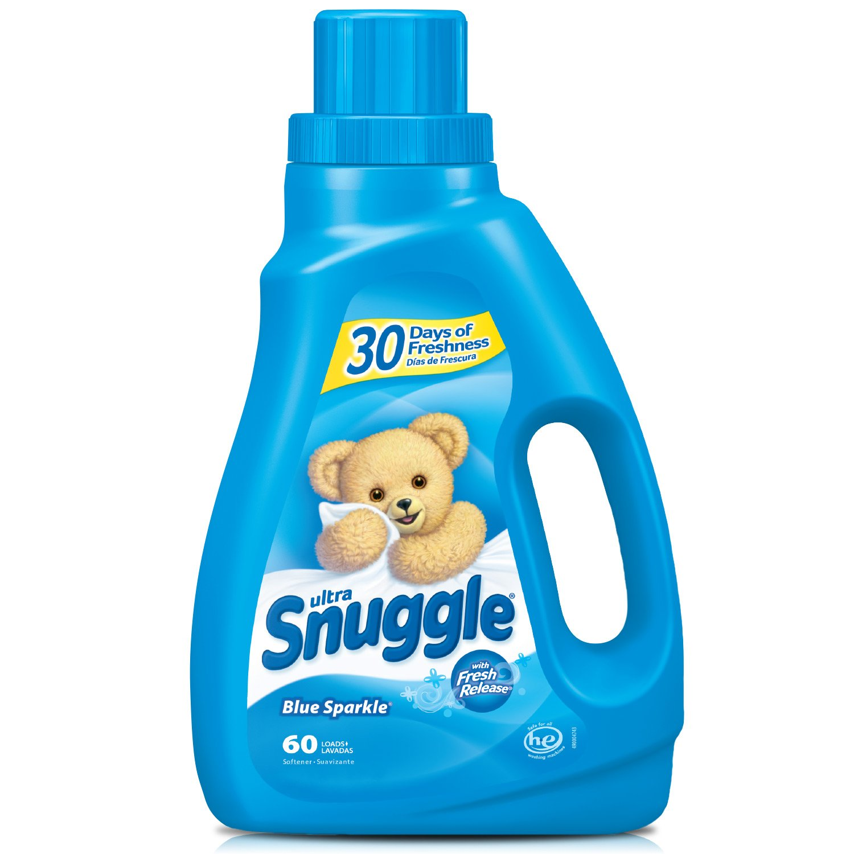 Snuggle Liquid Fabric Softener with Fresh Release, Blue Sparkle, 50 Fluid Ounces