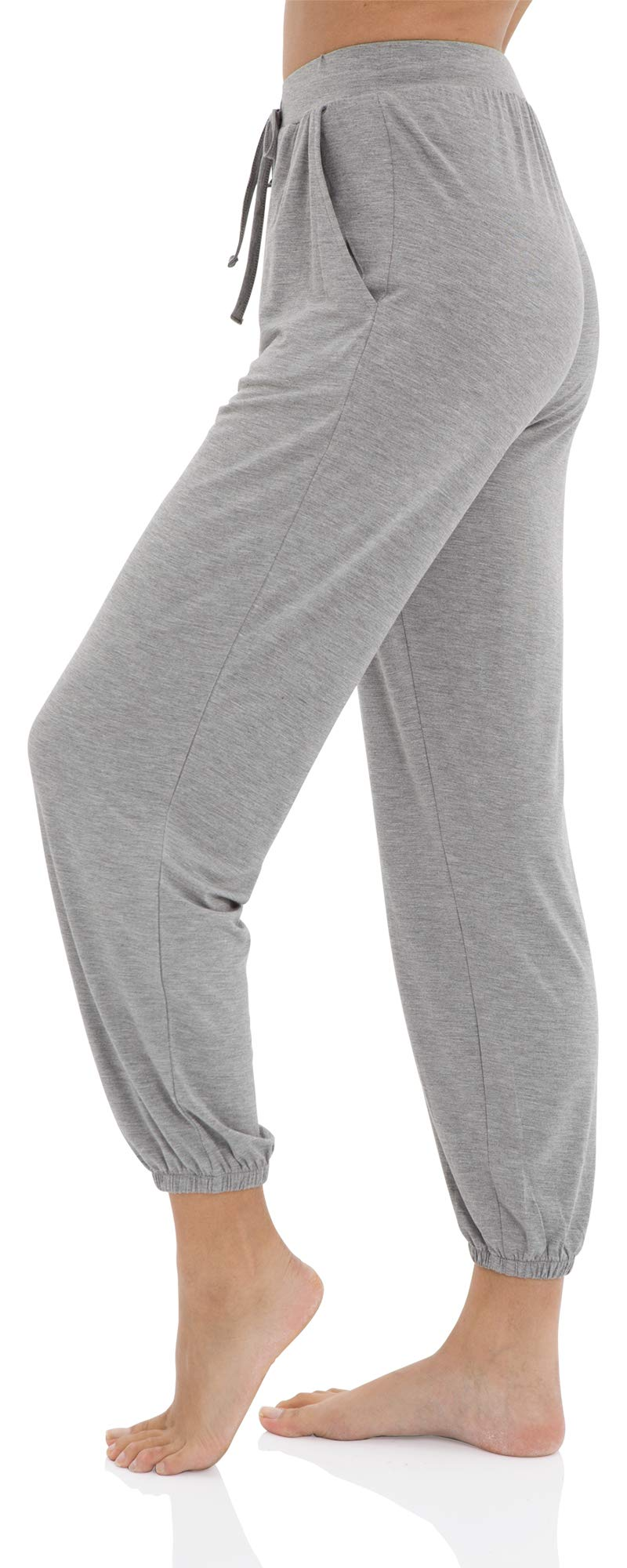 WiWi Womens Bamboo Soft Loungewear Lounge Jogger Pants Pajama Bottoms Comfy Plus Size Sleepwear Pant S-4X