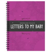 Immortalizing Thought: Letter to My Baby! Personalized Baby Gifts for Newborn - The Memorial Time Capsule to Childs & Beauty Journal Book