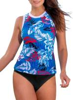 HOTAPEI Swimsuits for Women Two Pieces Tankini Swimsuits