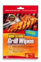 Grate Chef Non-Stick Disposable Grill Wipes, 6 Count