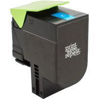 Print.Save.Repeat. Lexmark 71B0020 Cyan Remanufactured Toner Cartridge for CS317, CS417, CS517, CX317, CX417, CX517 [2,300 Pages]